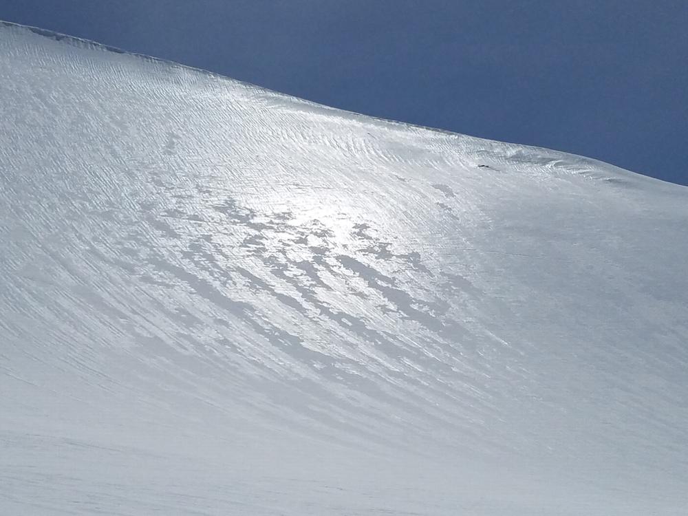 Glossy Sheen in Avalanche Gulch