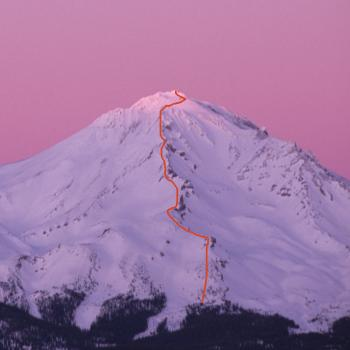 Mount Shasta - Casaval Ridge - Winter - Photo by Tim Corcoran
